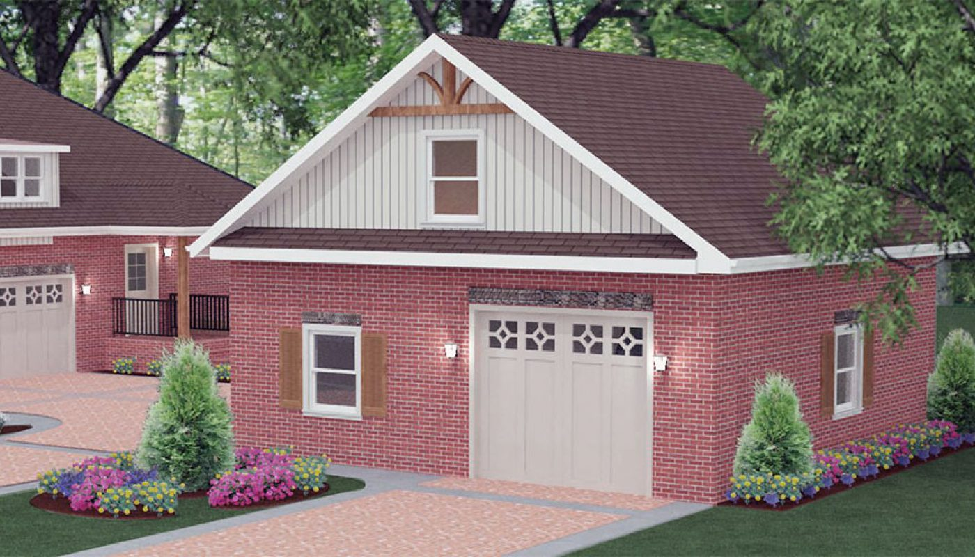 Custom Detached Garage