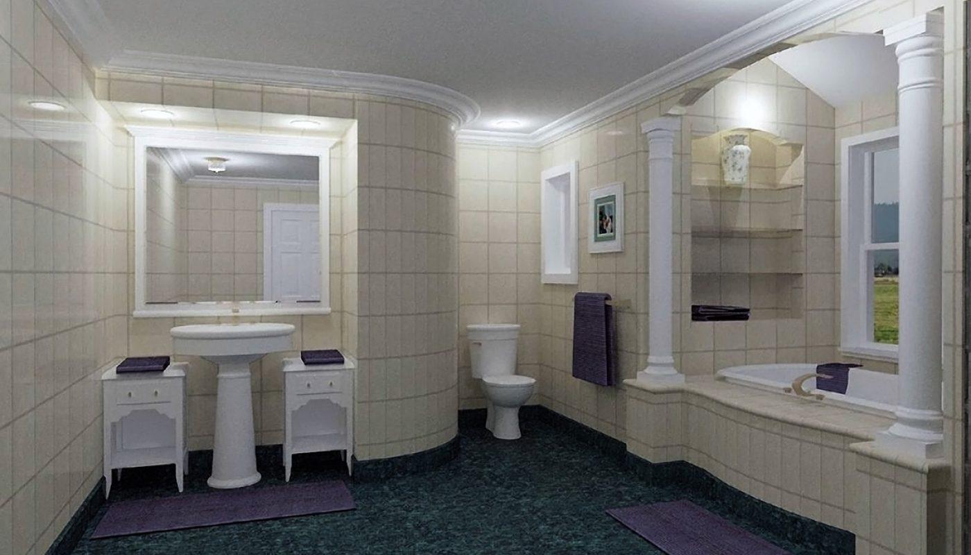 Elegant Bath Remodel